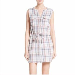 NWT Soft Joie Tawna Plaid Shirtdress sz. Small